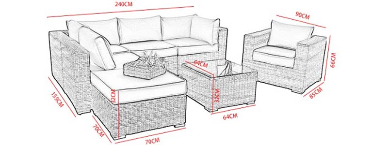 rattan wicker furniture