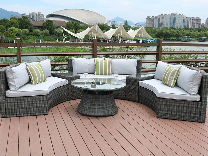 backyard furniture sofa set