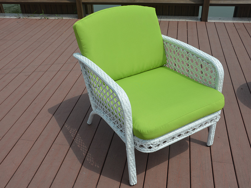 Patio rattan dining set