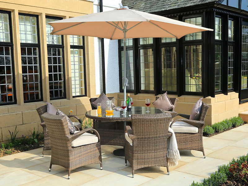 patio wicker dining sets